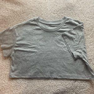 💚3/$10: NWOT F21- Super Crop T-shirt (S)